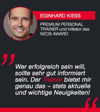 Trainer-Magazin Testimonial Eginhardt Kies