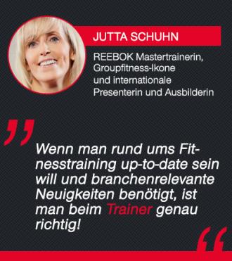 Trainer-Magazin Testimonial Jutta Schuhn