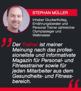 Trainer-Magazin Testimonial Stephan Müller