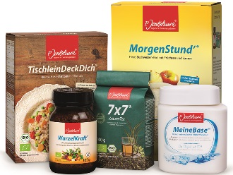Die naturbelassenen P. Jentschura-Qualitätsprodukte sorgen für einen ausbalancierte Säure-Basen-Haushalt