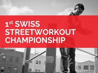 Die Swiss Streetworkout Championship findet parallel zu den Dynamic Days statt