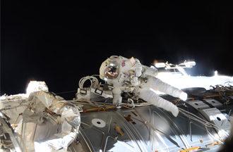 Als Trainer im Europäischen Astronautenzentrum