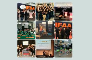 Gemeinschaftsstand IFAA, Perform Better und TRAINER Magazin