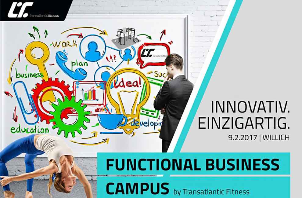 Bildrechte: Transatlantic Fitness / Functional Business Campus
