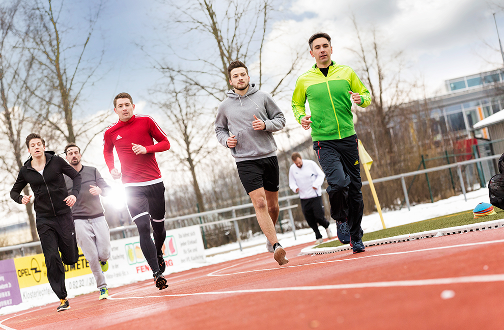 Im individuell richtigen Trainingsbereich sind Laufeinheiten wesentlich effektiver.
