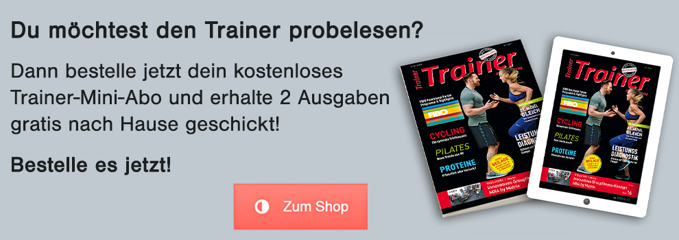 Trainer-Magazin Probe Abo