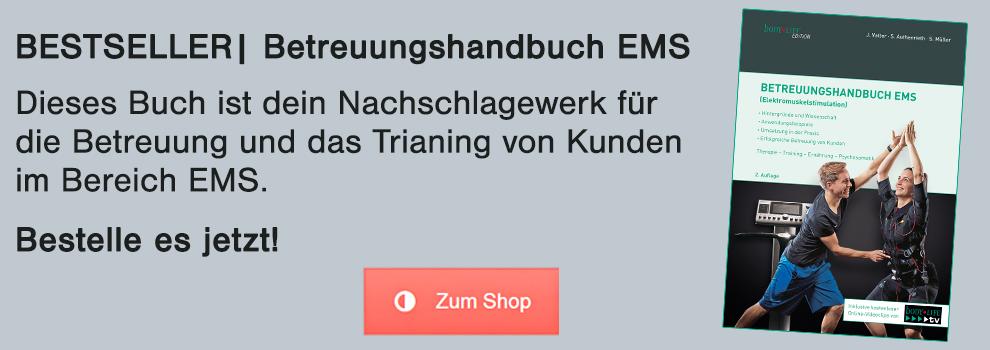 Topseller Betreuungshandbuch EMS