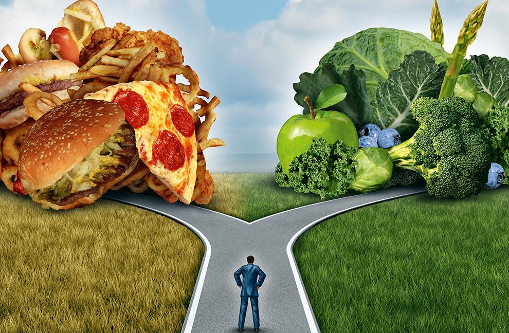 Wo soll es hingehen? Wem sein Ernährungsverhalten bewusst ist, kann dies besser entscheiden. Foto: Lightspring/Shutterstock.com