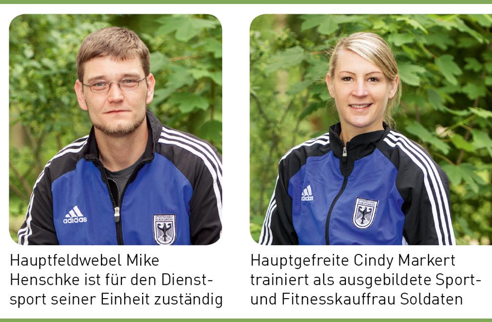 1 Trainer in Behörden und Unternehmen Teil 4 Sport & Fitness bei der Bundeswehr