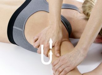 Sportmassage Querstreichung