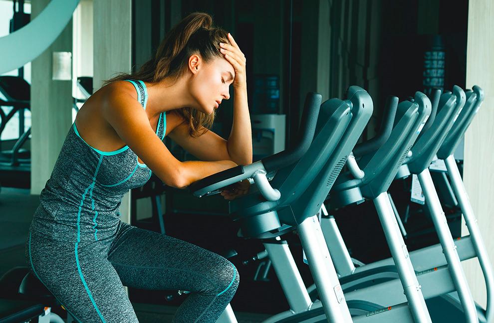 Stress in im Privat- oder Berufsleben wirkt sich negativ auf die Leistungen im Training aus. Foto: Blackday 9/Shtutterstock.com