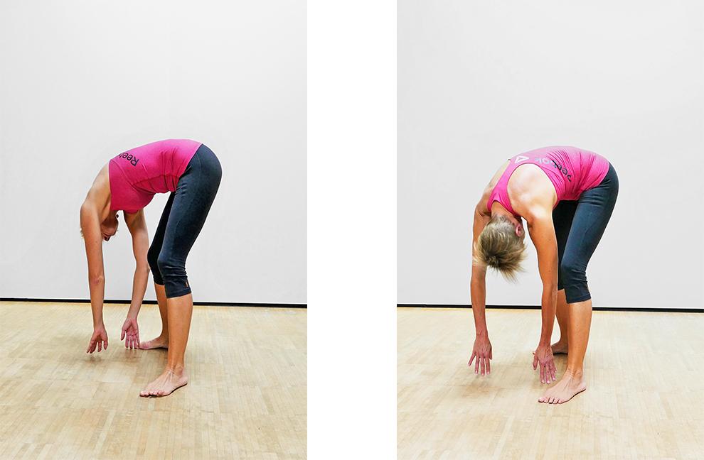 Rückenschmerzen: 3 Übungen für die Fascia thoracolumbalis..