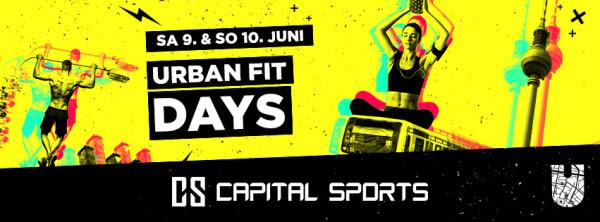 Event Tipp: Urban Fit Days Berlin