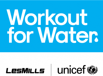 "LES MILLS und UNICEF kooperieren für ""Workout for Water"""