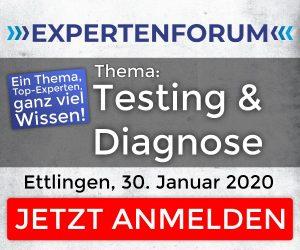 "Expertenforum ""Testing und Diagnose"""
