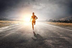 Muskeln machen Läufer