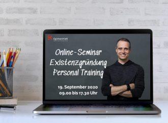 """Online-Seminar """"Existenzgründung für Personal Trainer"""""""